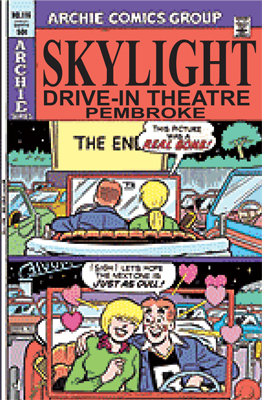 see what is playing at the Skylight drive-in theatre in the Pembroke, Ontario area
