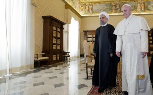 Vatican Pope Iran